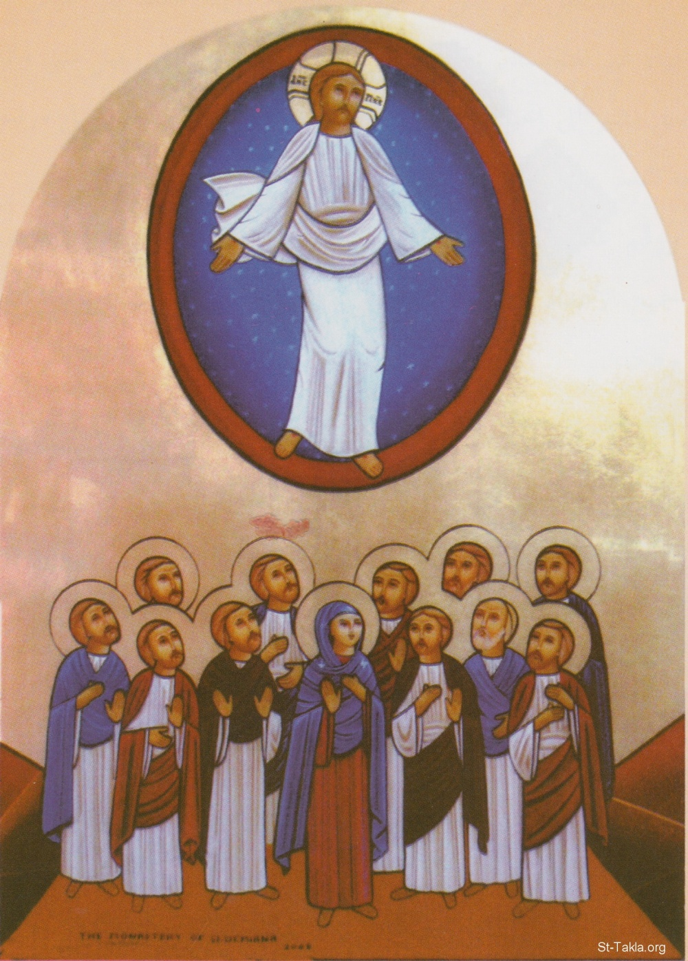 www-St-Takla-org--Damiana-Monastery-icon-Ascension